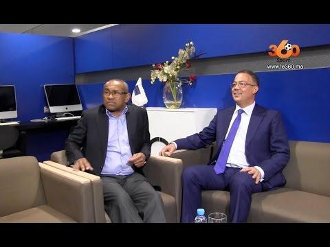 Le360.ma • L'arrivée d'Ahmad Ahmad, le président de la CAF, au Maroc
