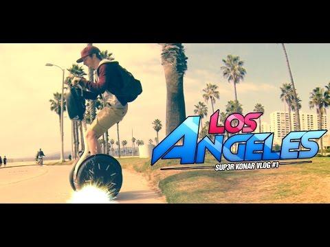 SUP3R KONAR VLOG #1: LOS ANGELES et PGW14