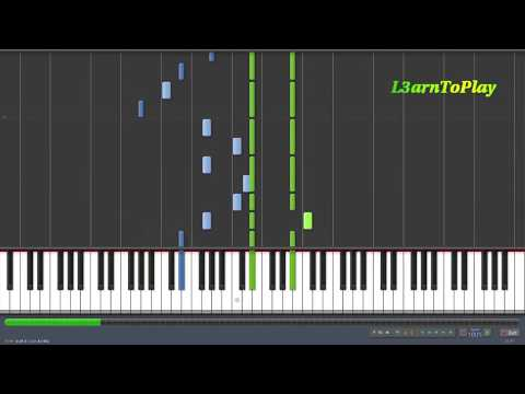 ONE REPUBLIC - APOLOGIZE Piano Tutorial HQHD