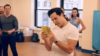 Skylar Astin, Betsy Wolfe and More in Rehearsal for HOW TO SUCCEED IN BUSINESS WITHOUT REALLY TRYING
