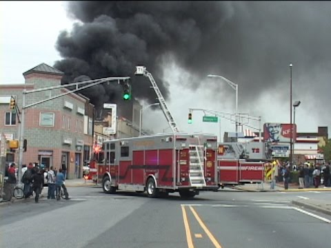 Raw video and radio traffic: 3-alarm NJ structure fire