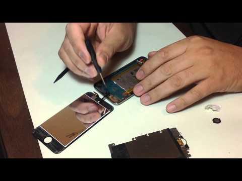 Ipod 4: Reemplazo de antena WiFi y bateria
