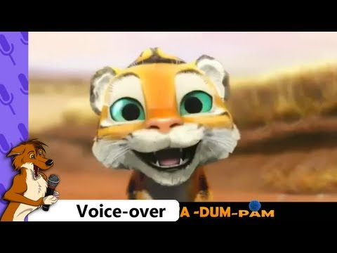 Tiger Boo Voice-over