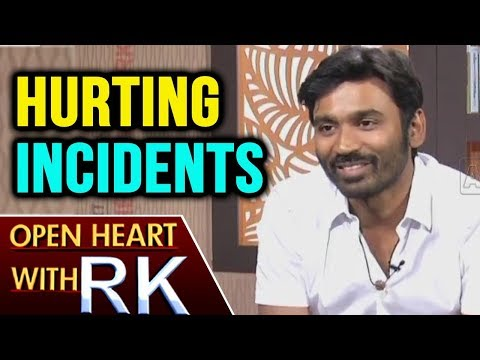 Actor Dhanush About Hurting Incidents   Open Heart With RK   ABN Telugu