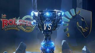 Mundial 2018: kt Rolster x Liquid (Jogo 1) - Fase de Grupos - Dia 1