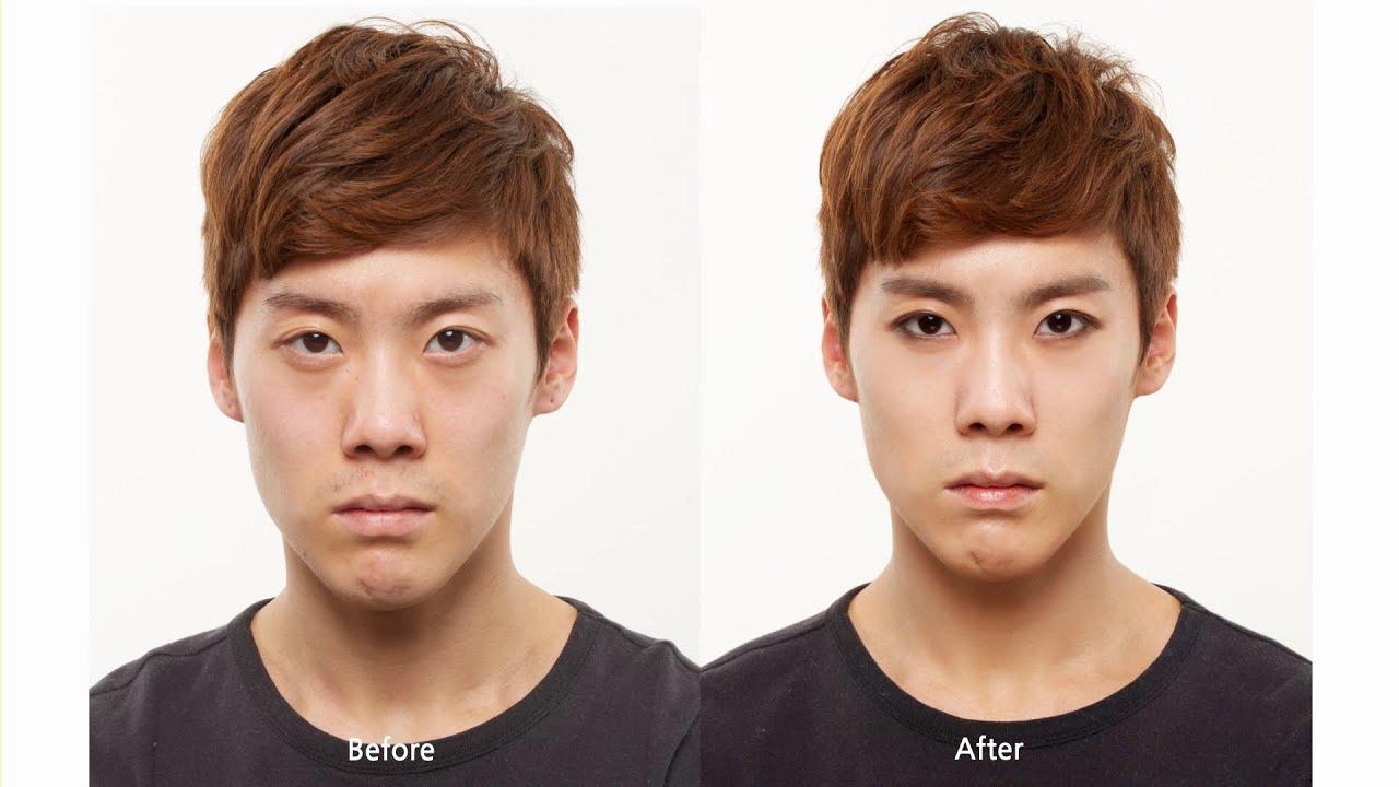 Male-k-pop Star Makeup