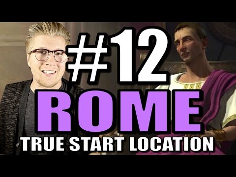 Civilization 5: Brave New World Gameplay - Rome Europe Mod [Part 12]