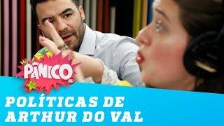 Eita! Arthur do Val discute com Isa Penna!