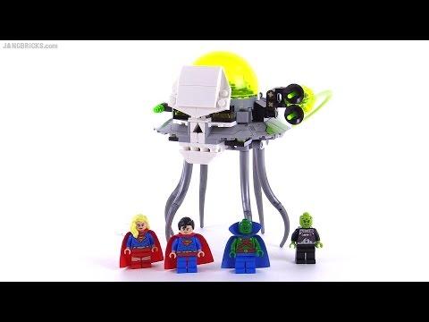 LEGO DC Super Heroes Brainiac Attack review! set 76040