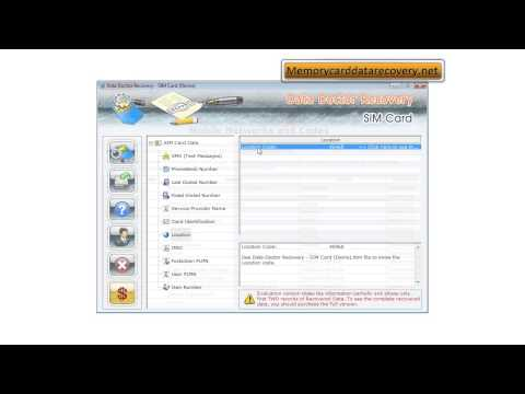 download free sim card data recovery restore repair software sim messages contacts recovery tool