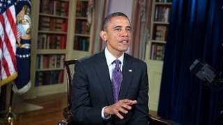 weekly address, President Obama on the Need for a Balanced Approach to Deficit Reduction 2/5/13