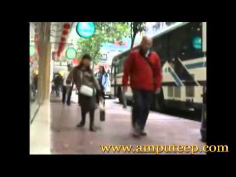 polio woman shopping fun