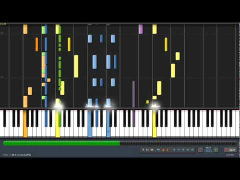 Synthesia: Naruto: Wind video