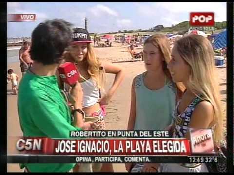 C5N - VERANO 2015: JOSE IGNACIO, LA PLAYA ELEGIDA EN URUGUAY