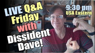 Q&A Friday with Dissident Science Dave