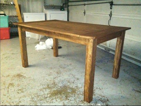 Сделать деревянный стол своими руками фото