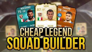 FIFA 15 CHEAP LEGEND SQUAD w/ LEGEND VIERI! - FIFA 15 ULTIMATE TEAM SQUAD BUILDER
