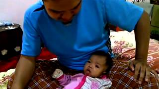 Baby 3 Bulan Mengaji Bersama Bapa