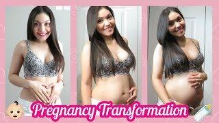 EPIC PREGNANCY TRANSFORMATION   MI TRANSFORMACION DURANTE EL EMBARAZO