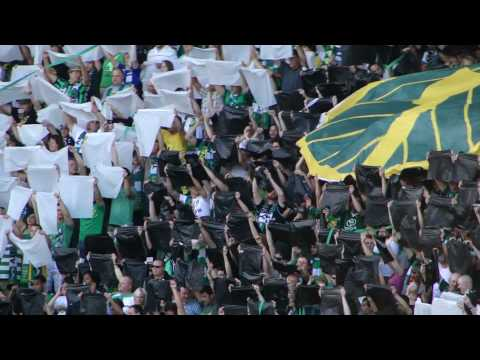 Portland Timbers Army. Video