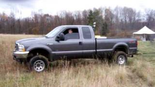 7.3 Powerstroke and Cummins pulling out stuck duramax