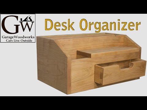 plans desk organizer