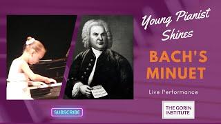 Bach. Minuet in g minor