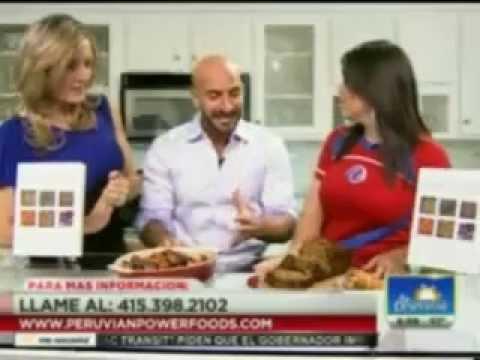Bay Area San Francisco Univision 14 Recetas de Super Alimentos Peruanos En Español