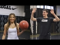 LOL! Thibaut Courtois & Ty Simpkins PLAY BASKETBALL, Someone (Ty) Gets Annihilated
