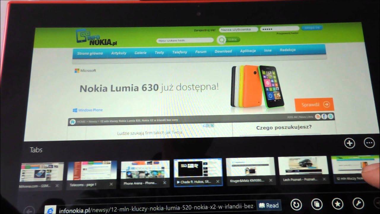 Nokia Lumia 1625 Recenzja Nokia Lumia 2520