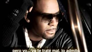 R. Kelly Video - R.Kelly - If i could turn back the hands of time (subtitulada a español)