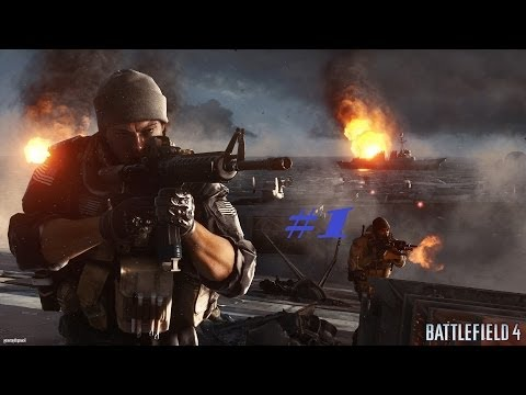 Прохождение Battlefield 4 №1 - Double Fail в Баку(18+)