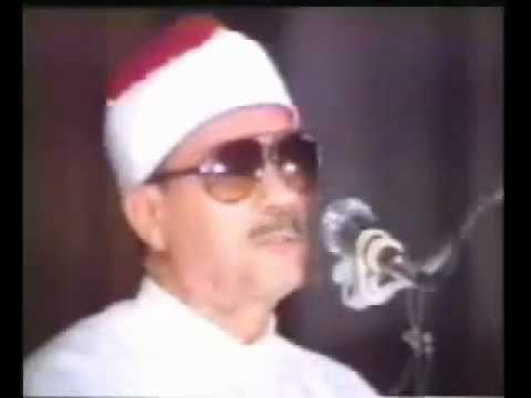 Qari Abdul Basit Abdus Samad Part 3 of 4 (Surah Infitar, Tahreem, Haqqah)