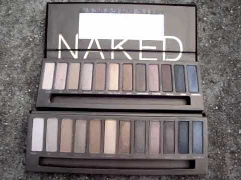 Urban Decay: Fake Vs Real NAKED