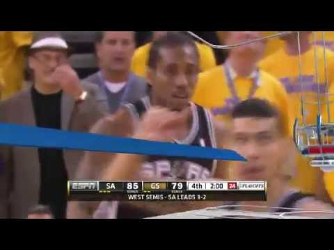 NBA CIRCLE - San Antonio Spurs Vs Golden State Warriors Game 6 Highlights - 16 May 2013 NBA Playoffs