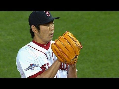 Koji pitches scoreless ninth to earn save