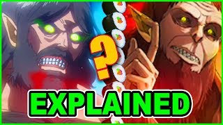 The Dark Truth About BEAST TITAN Explained! Attack on Titan EXPLAINED