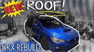 Pt.1 Rebuilding a 2017 Subaru Wrx with Hail Damage from auction!