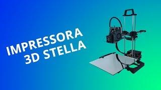 Impressora 3D Stella: um modelo nacional e de baixo custo