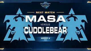 MaSa vs Cuddlebear TvT - Group A - WCS Challenger NA Season 2