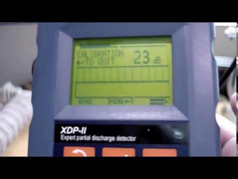 Equipo de descargas parciales Amperis XDPII
