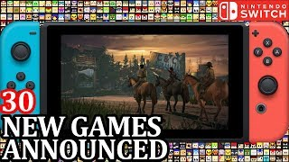 30 New Switch Games ANNOUNCED for Week 2 June 2018 | Nintendo News