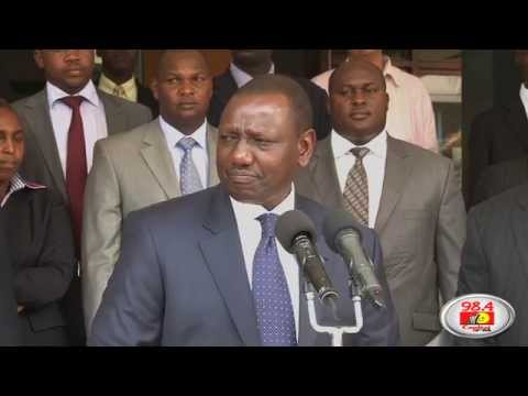 Ruto speaks to Raila, takes over his office