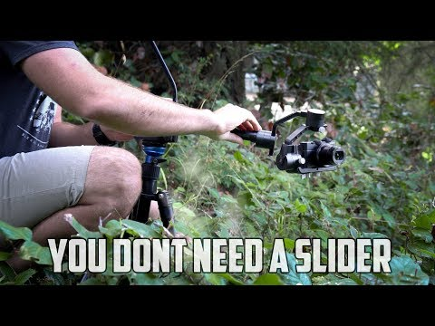 Use your GIMBAL as a SLIDER in this FILMMAKING HACK