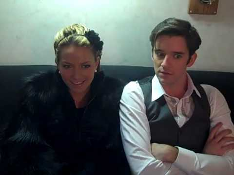 Becki Newton and Michael Urie get a genius idea Video