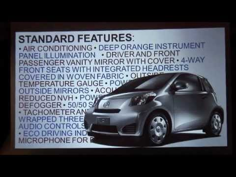 2012 Scion iQ Product Introduction, Marketing