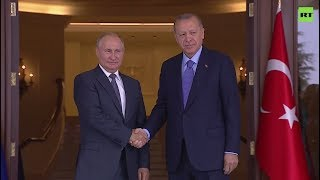 Leaders of Russia, Iran and Turkey discuss Syria at Ankara summit