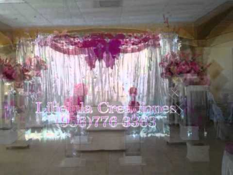 Quincea era tema mariposas youtube for Decoracion para quince anos