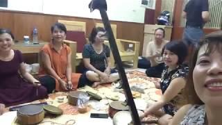 Lớp Chầu Văn Bích Câu - Nghệ sỹ  Tuyết Tuyết phụ trách