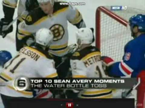 NHL Top 10 Sean Avery Moments